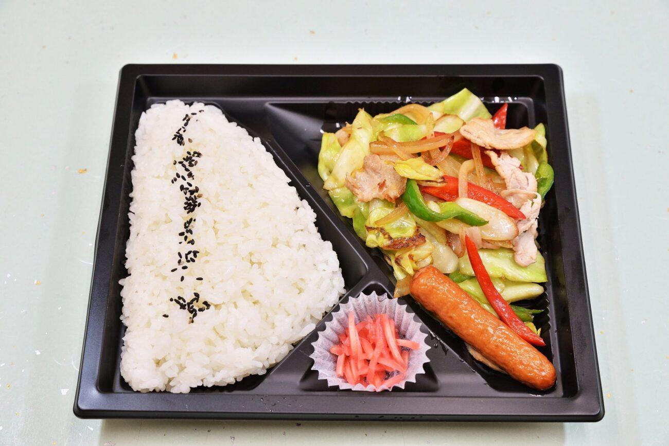 野菜炒め弁当